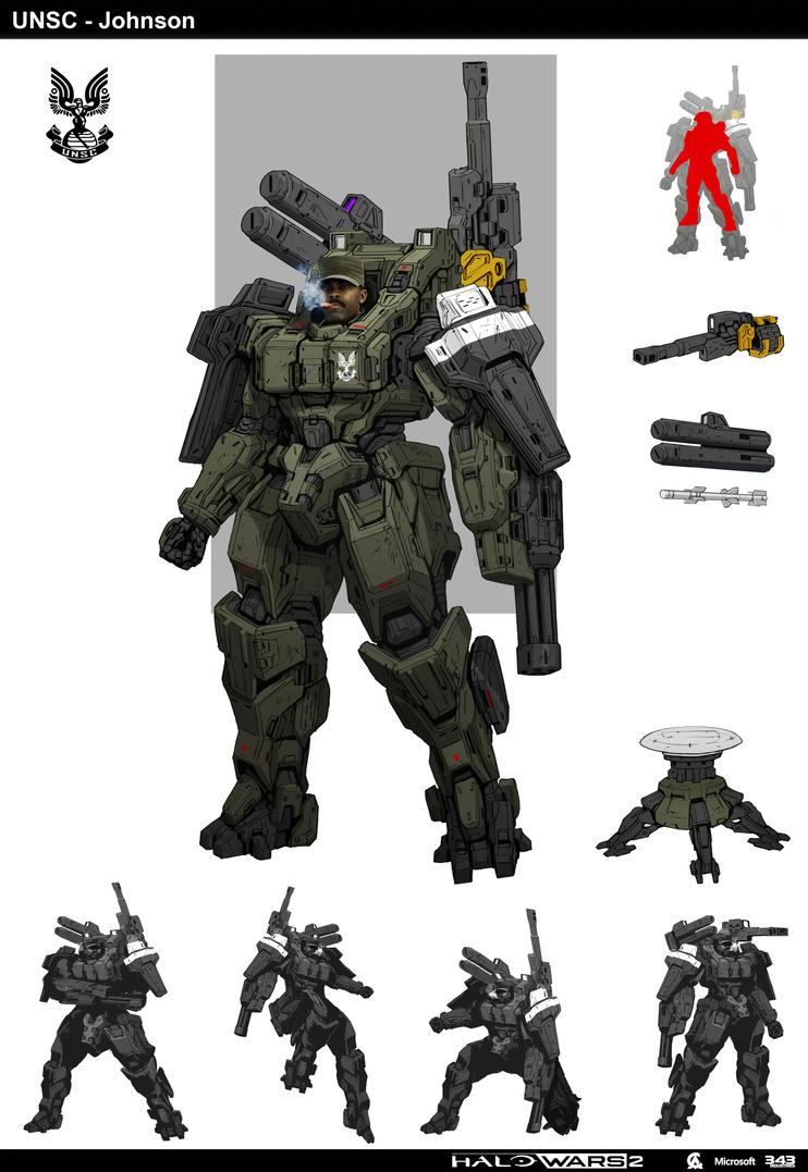 Halo Johnson by StTheo