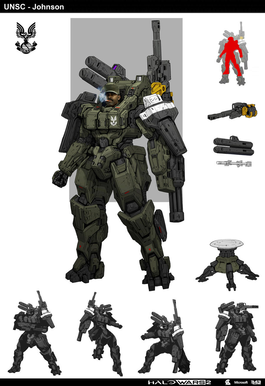 Halo Johnson By Sttheo On Deviantart