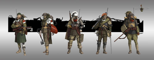 WW2 knights by StTheo