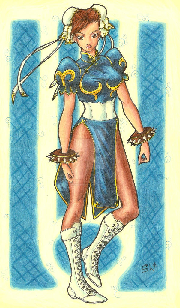 Chun Li colours by hwoarang1986