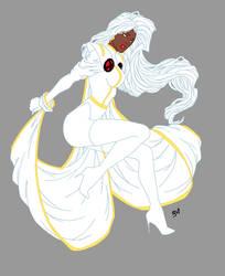 Women of Marvel: Storm2.0 by hwoarang1986