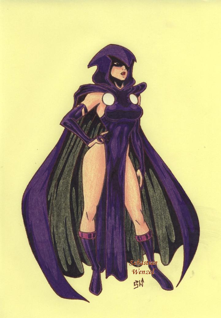 Raven by hwoarang1986