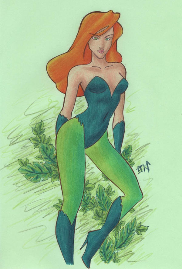 Poison Ivy by hwoarang1986