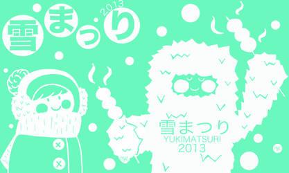 Yuki Matsuri Tshirt front and back (submission) by AlexandriaJLee