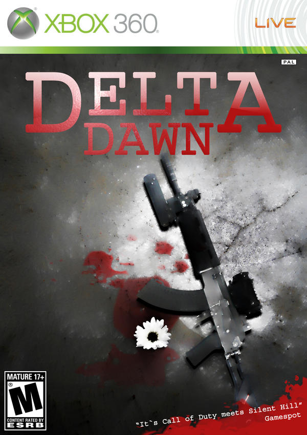 Delta Dawn Cover... spooky by RIKECH