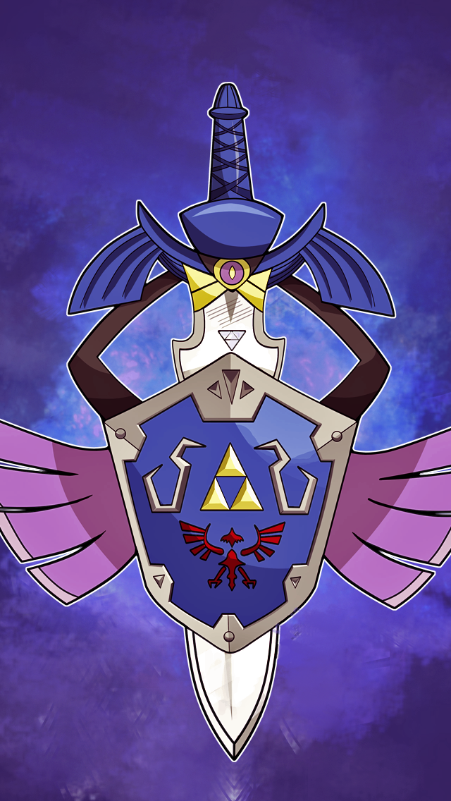 Master Sword Aegislash IPhone 5 Wallpaper By Mootypwns