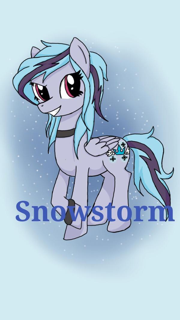 MLP:FIM OC - Snowstorm by xXKeyBladePrincessXx