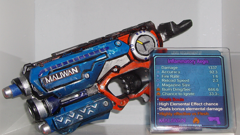 Borderlands Nerf Gun by dadrian