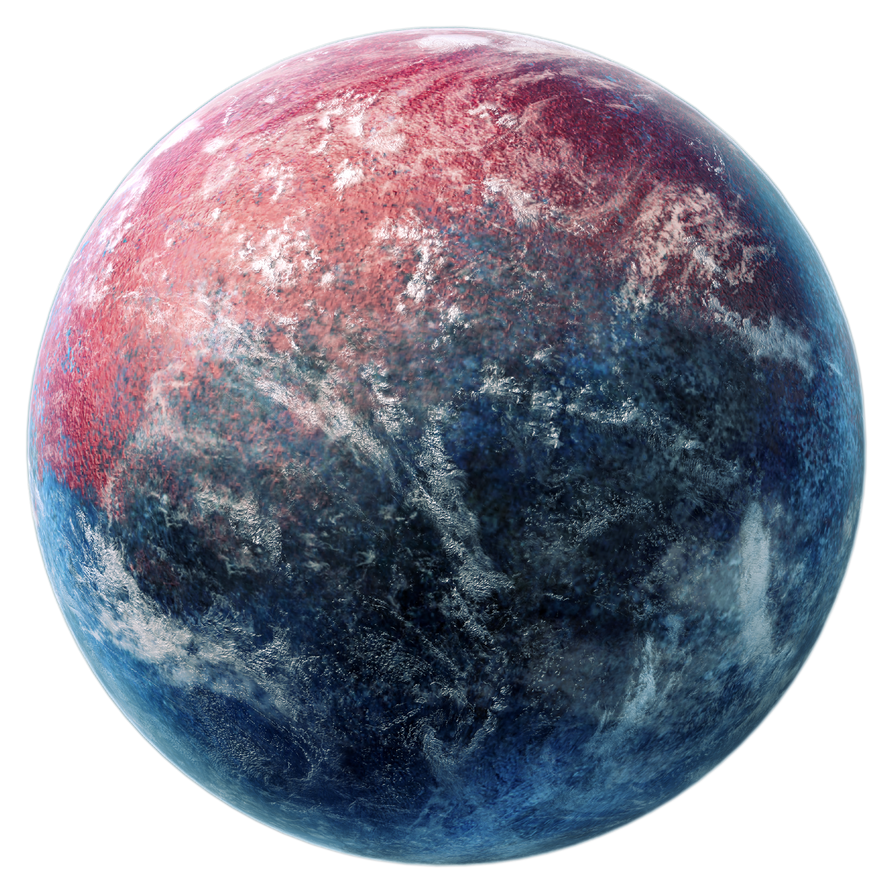 Red And Blue Planet Stock By Dadrian On Deviantart