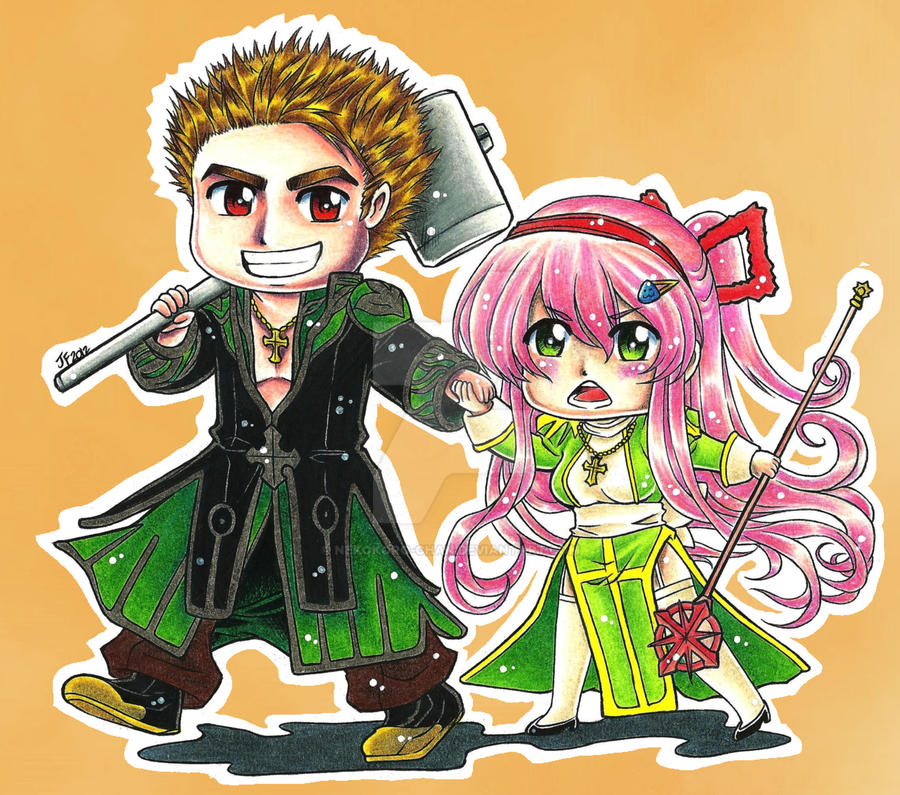 Ragnarok Online: Will e Clara by Nekokoro-chan