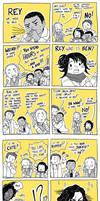 Star Wars Reylo Comic Revelations by Nekokoro-chan
