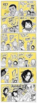 Star Wars Reylo Comic Revelations