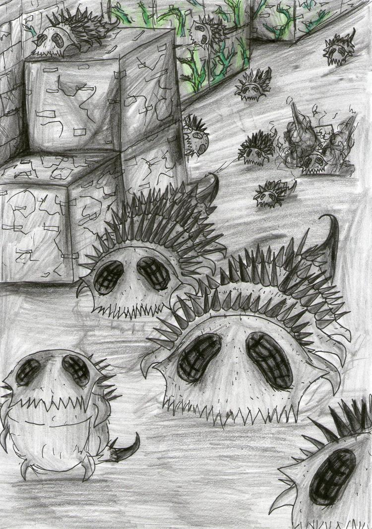 Silverfish, those creepy