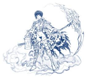 Reaper Gal 3 by Four-Skulls