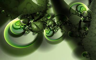 Emerald dreams WP by d-b-c