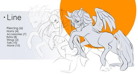 Pony line p2u