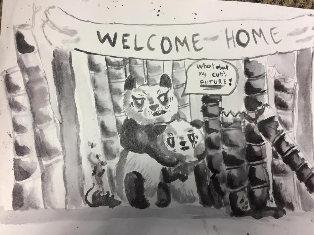 Pandapocalypse by Looluan