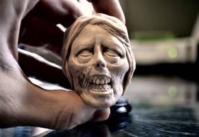 Female zombie WIP by asconch