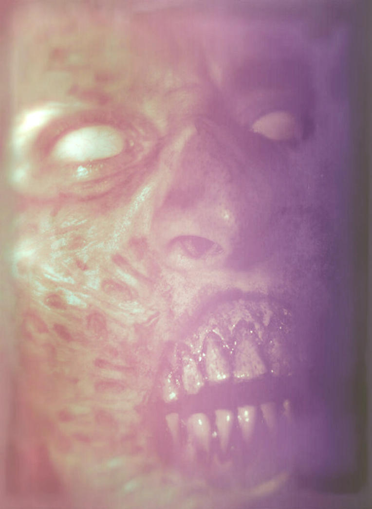 Overexposed Terror! by asconch