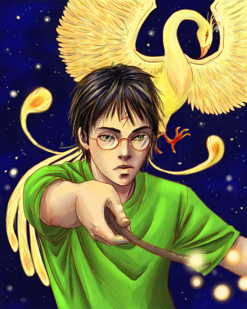 waiting for Harry Potter 7 by skorpi