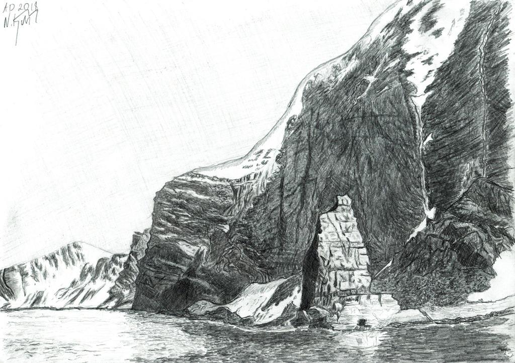 Fjords and lake by MateuszNitychoruk