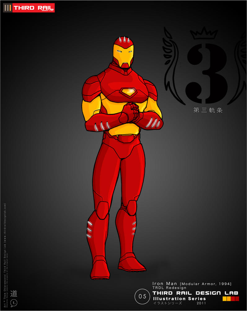 TRDL: Iron Man Redesign by TRDLcomics