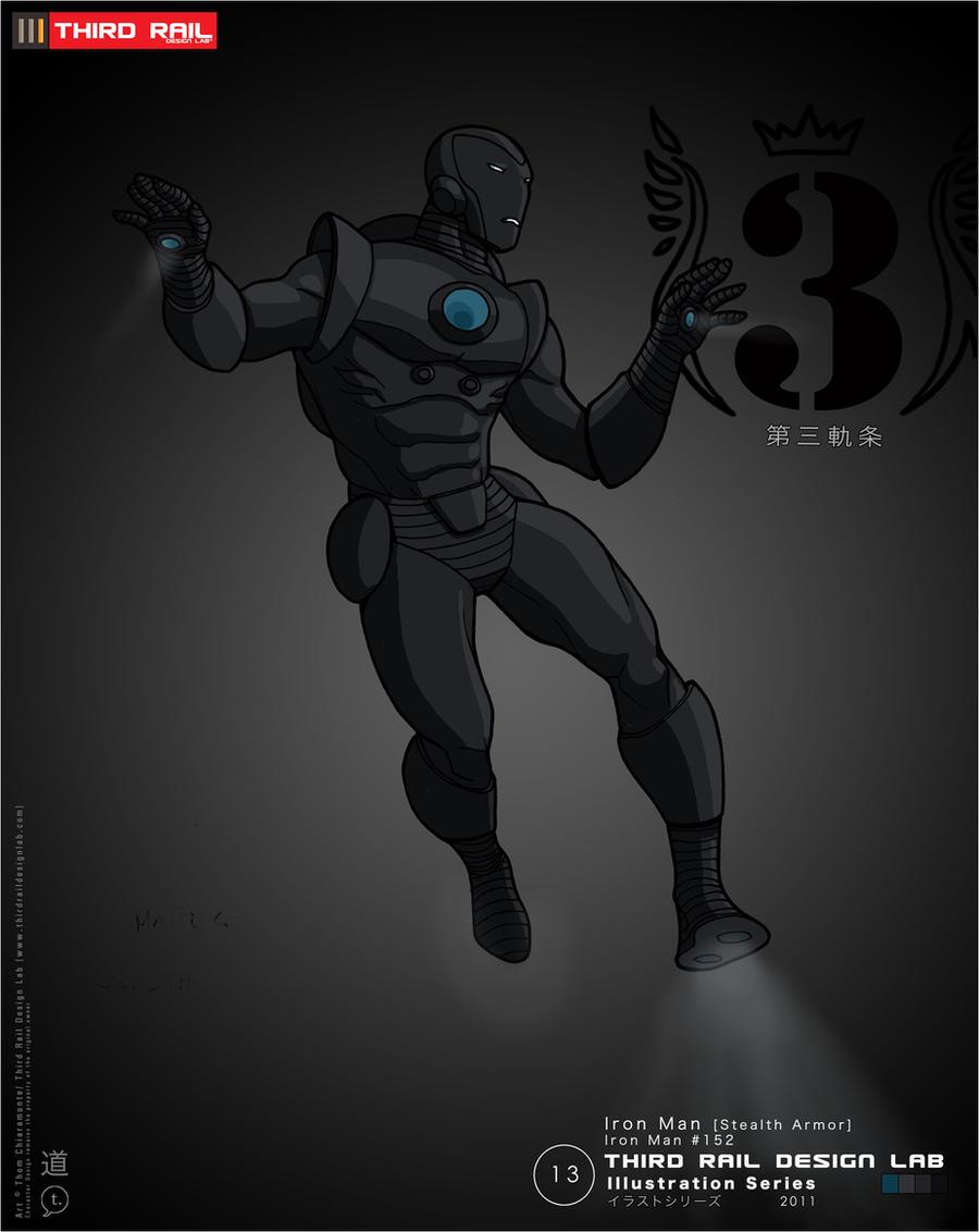 TRDL - Iron Man Stealth Armor by TRDLcomics on DeviantArt