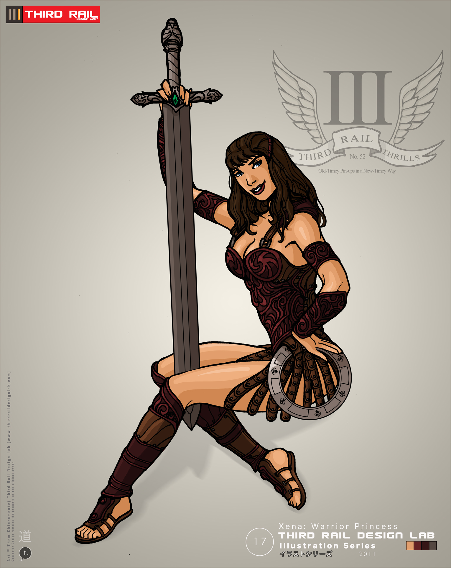 TRDL - Xena by TRDLcomics