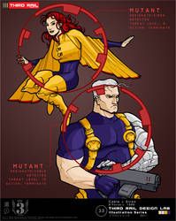 TRDL 2011 - Cable and Siren by TRDLcomics