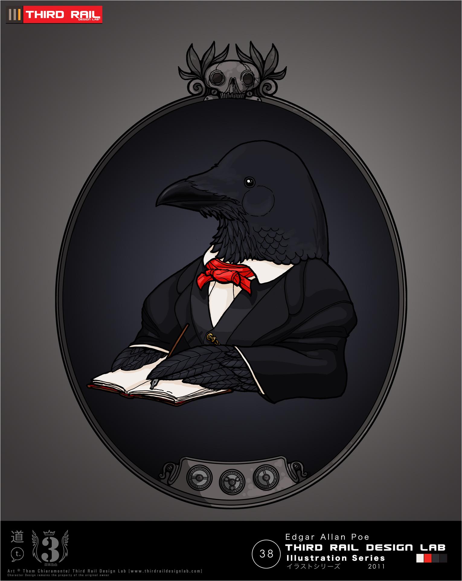 TRDL - Edgar Allan Poe by TRDLcomics on DeviantArt