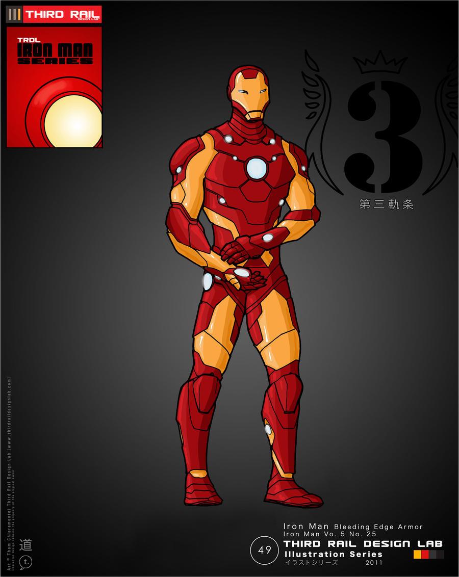 TRDL - Iron Man Bleeding Edge by TRDLcomics