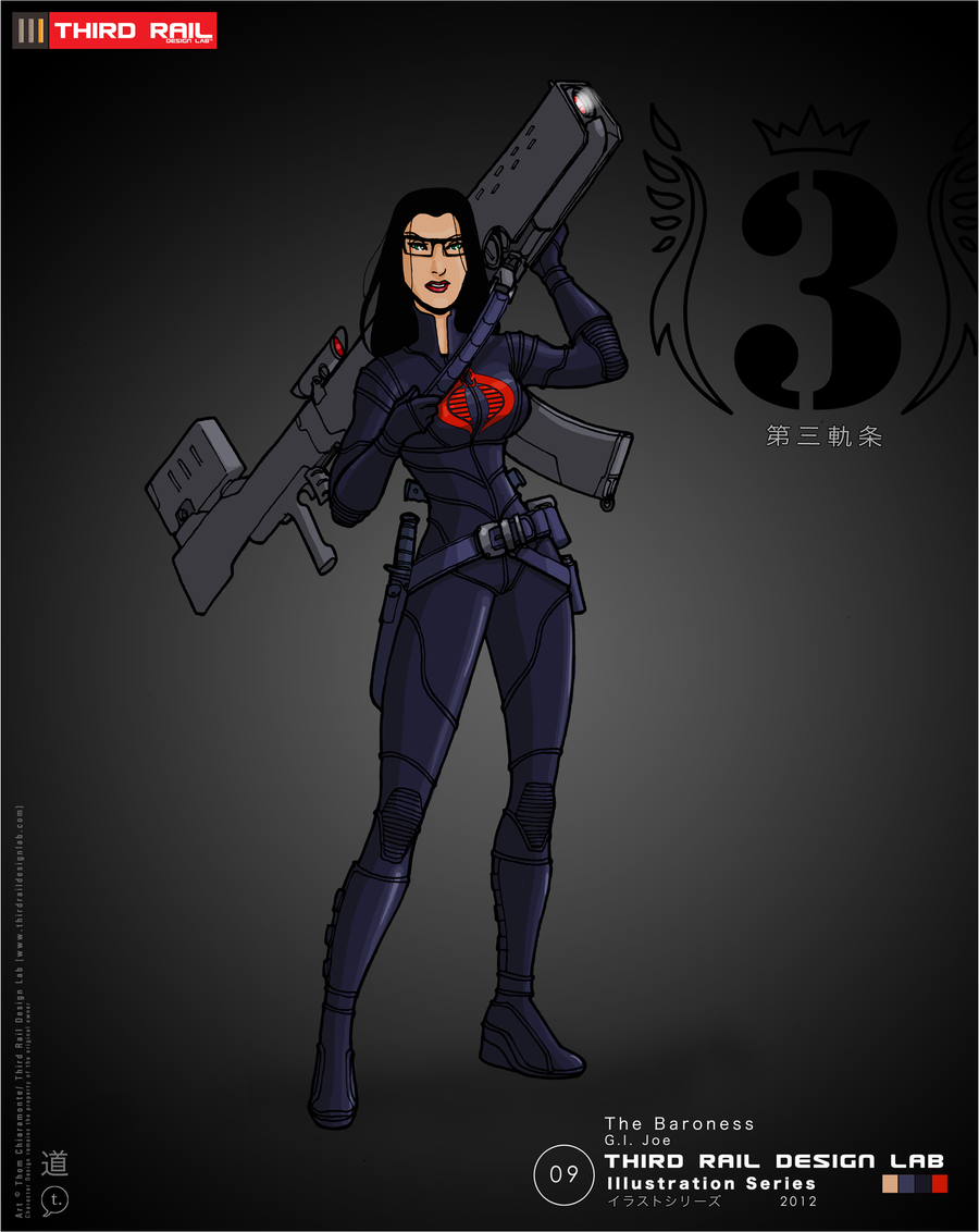 TRDL - Baroness 2012 by TRDLcomics