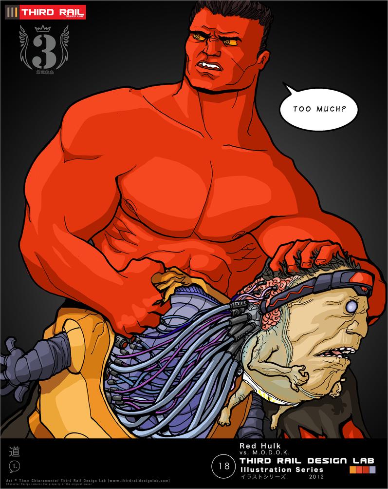 red hulk wallpaper