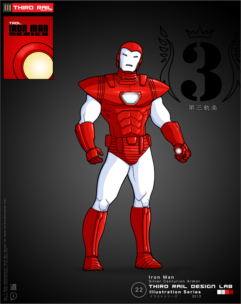 TRDL - Iron Man Silver Centurion by TRDLcomics