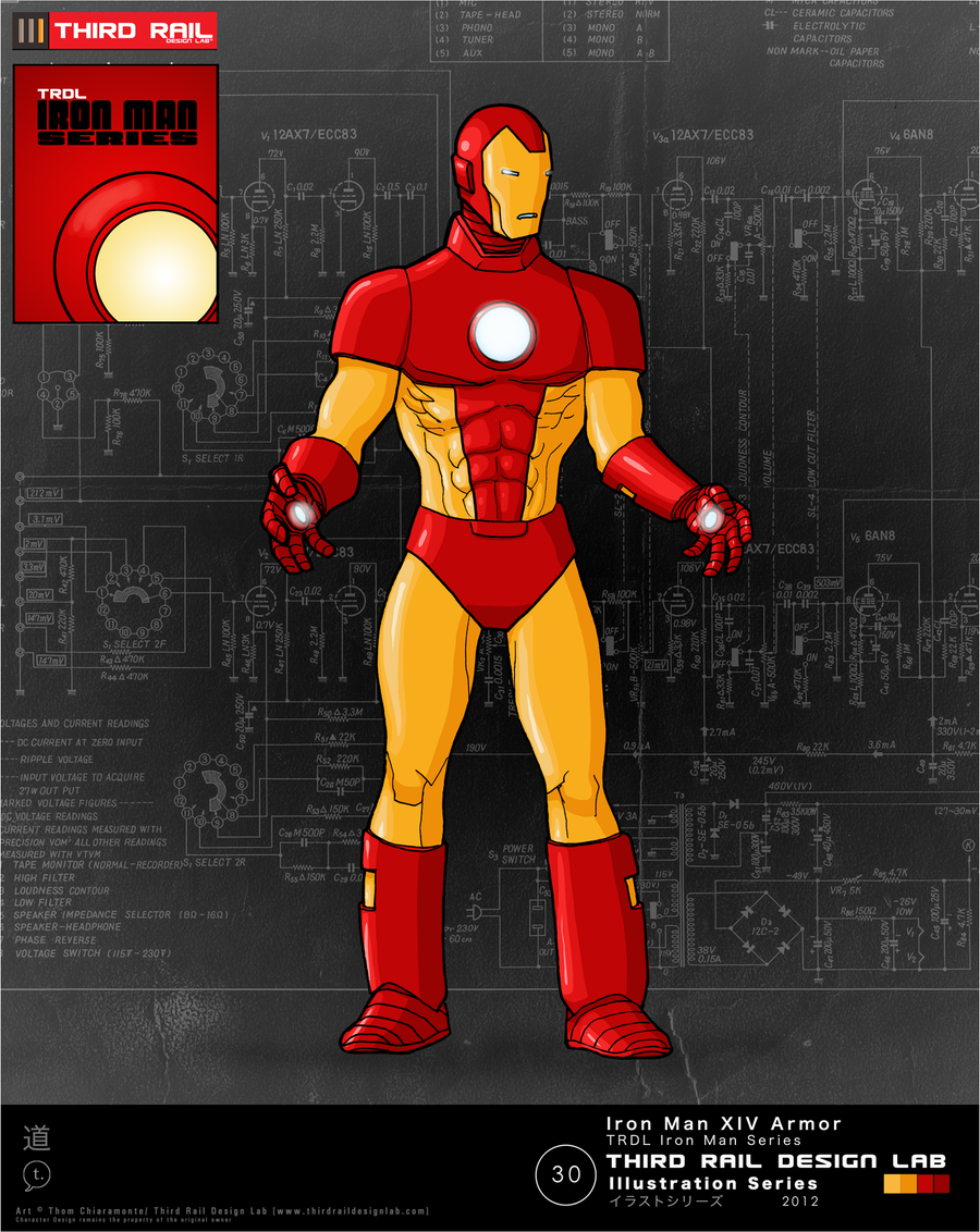 TRDL - Iron Man XIV by TRDLcomics