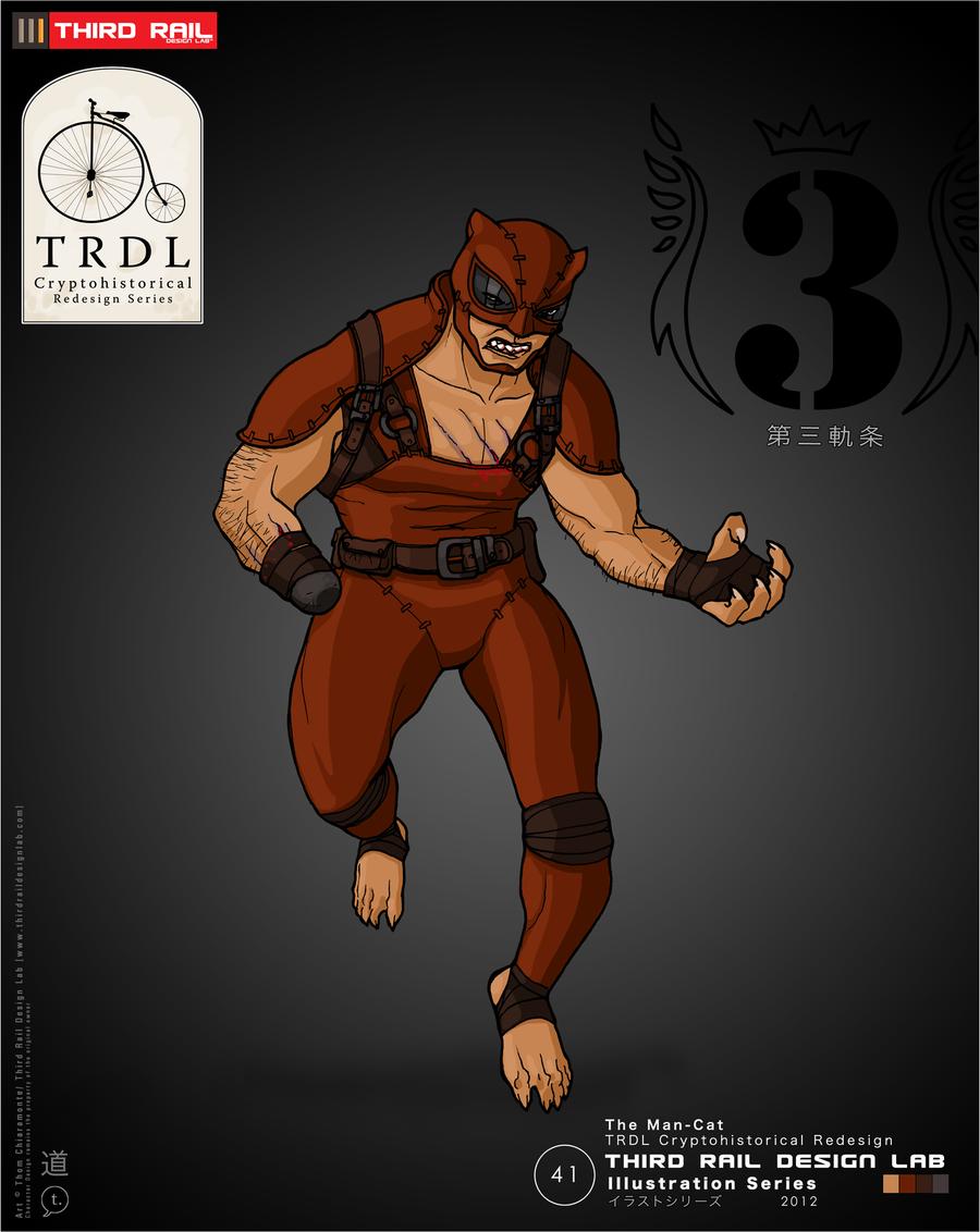 TRDL- The Man-Cat by TRDLcomics on DeviantArt