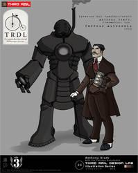 TRDL - Victorian Tony Stark by TRDLcomics