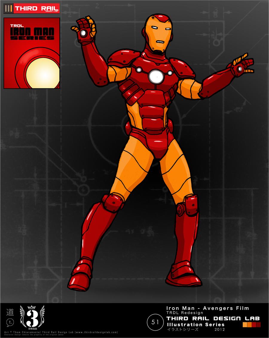 TRDL - Iron Man Avengers Film Redesign by TRDLcomics on ...