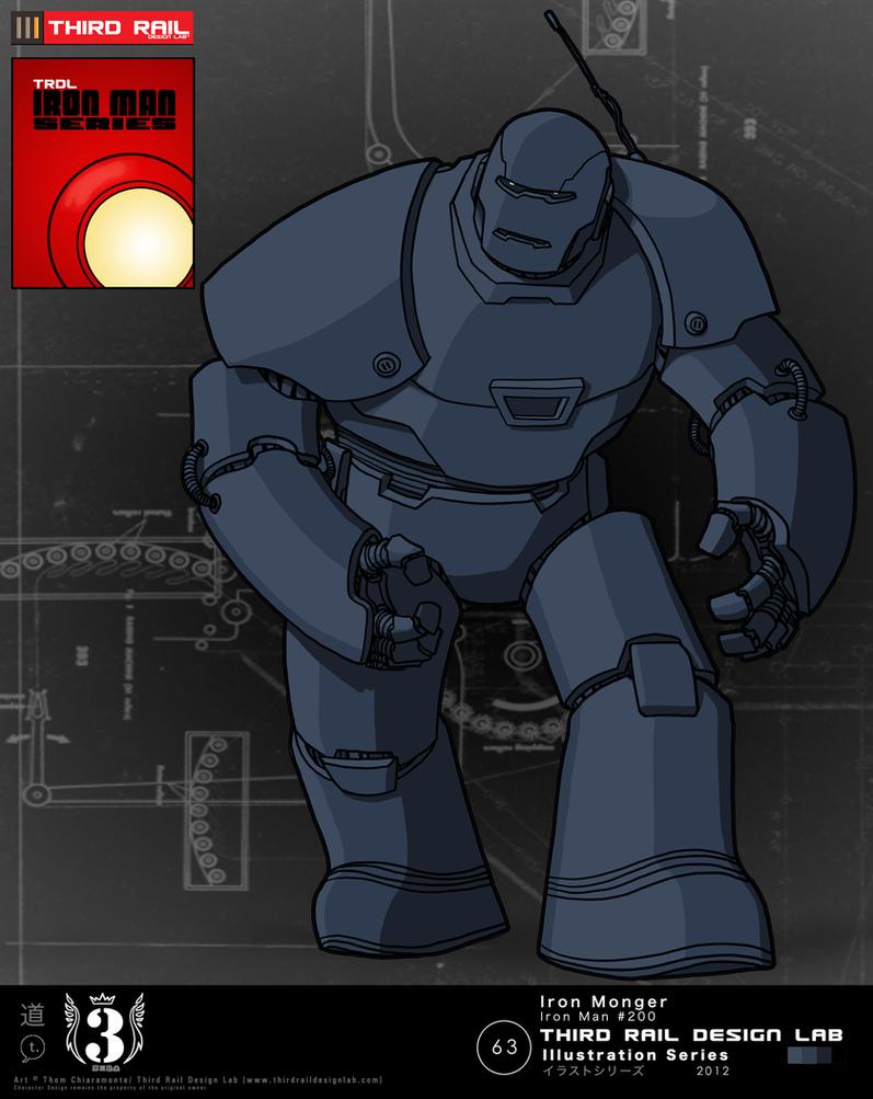 TRDL - Iron Monger by TRDLcomics