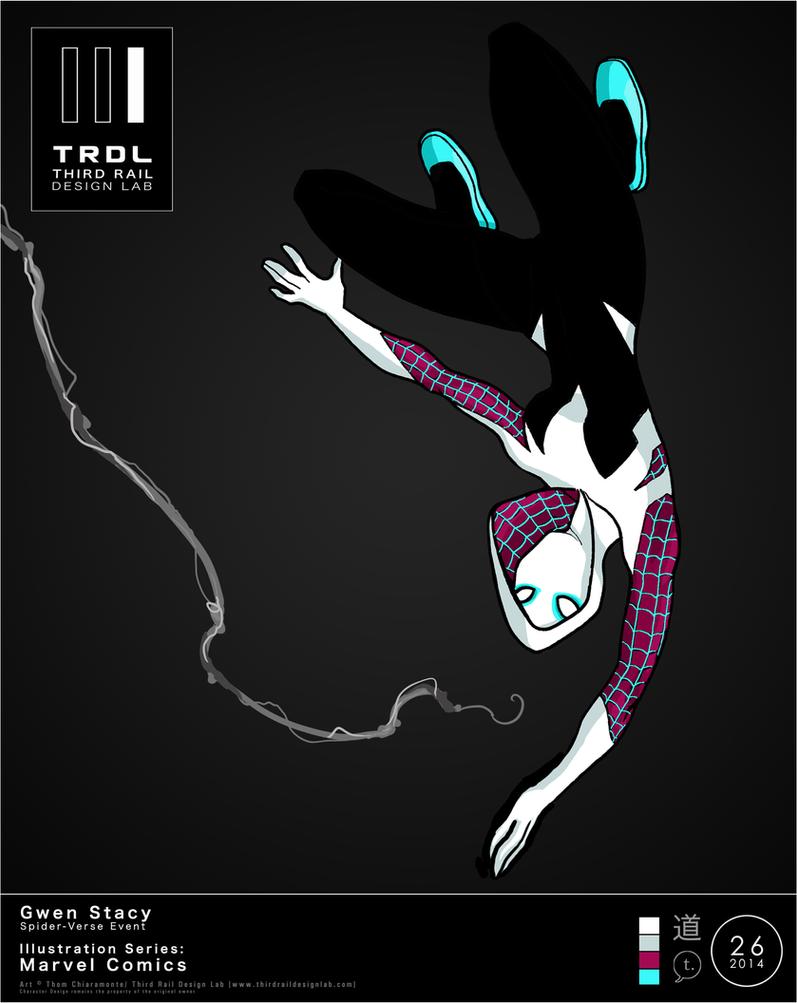 TRDL 2014 Series, No. 26 - Spider-Gwen by TRDLcomics