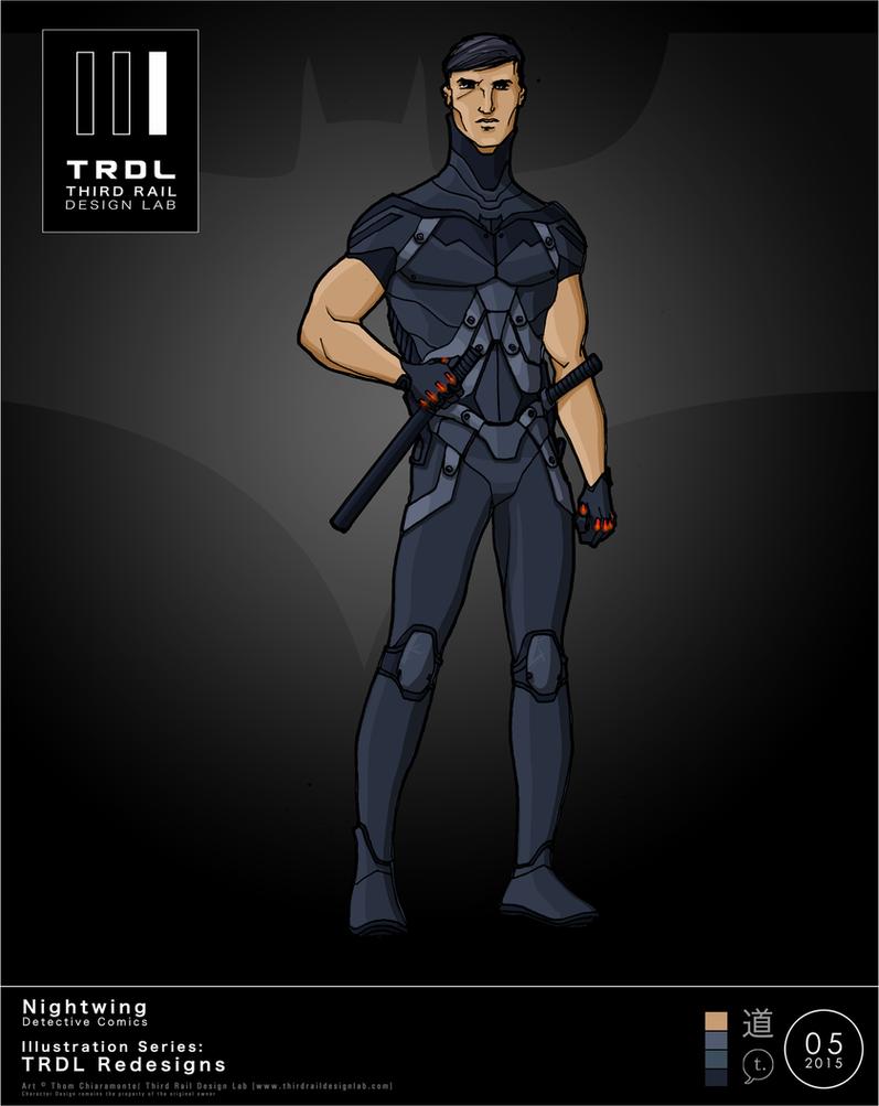 TRDL 2015 Series - Nightwing Redesign by TRDLcomics