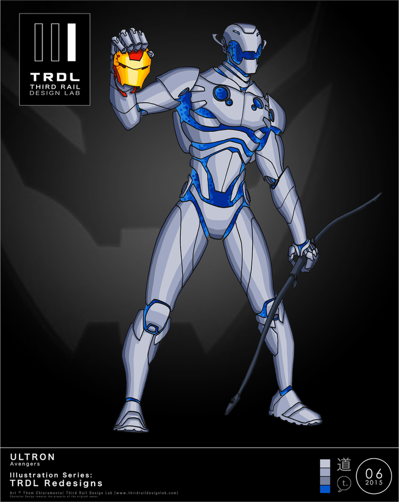 TRDL 2015 Series, No. 06 - Ultron [TRDL Redesign] by TRDLcomics