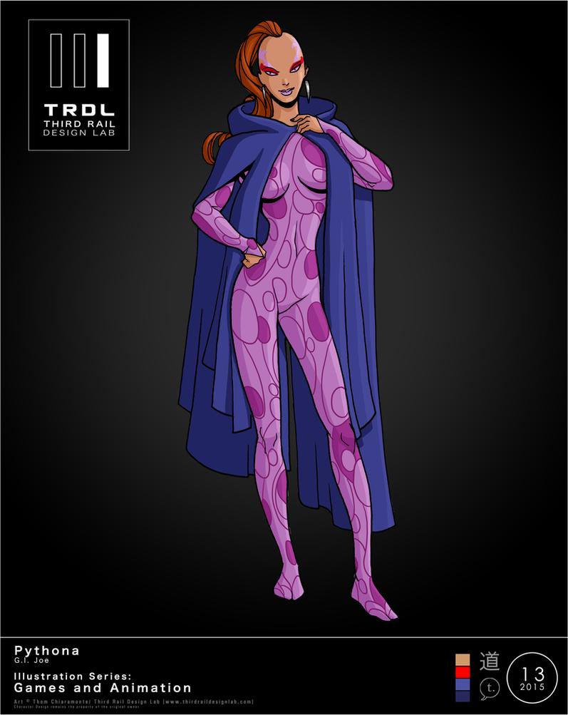 TRDL 2015 Series No 13 Pythona by TRDLcomics