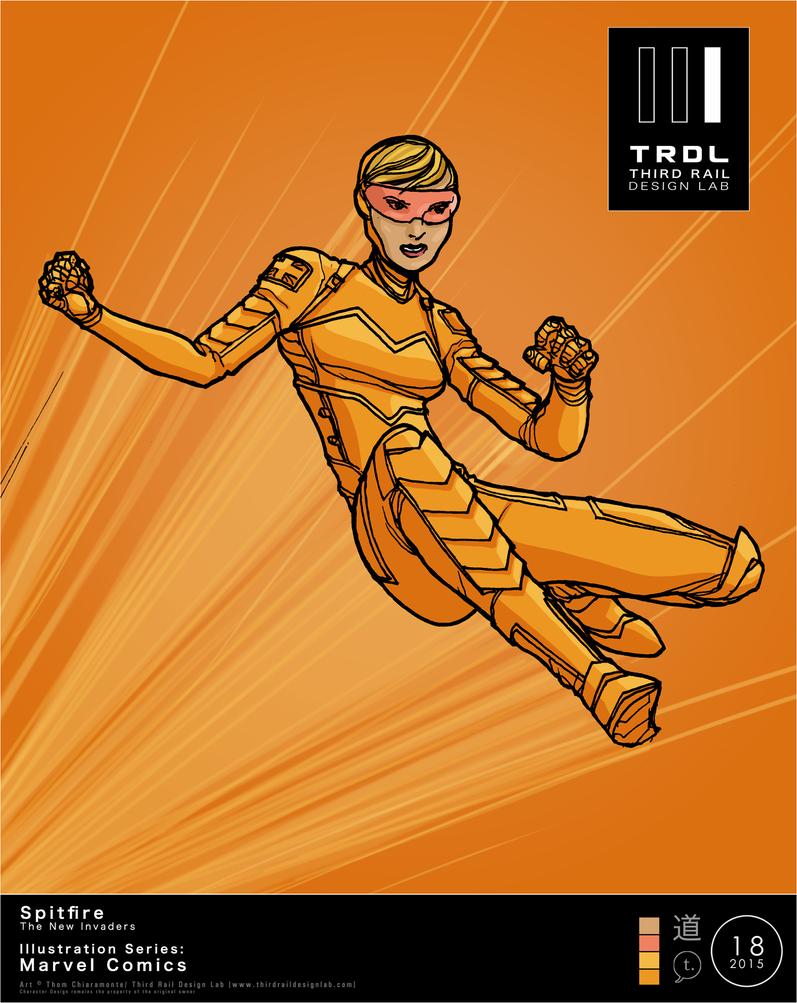 TRDL 2015 Series, No. 18 - Spitfire by TRDLcomics