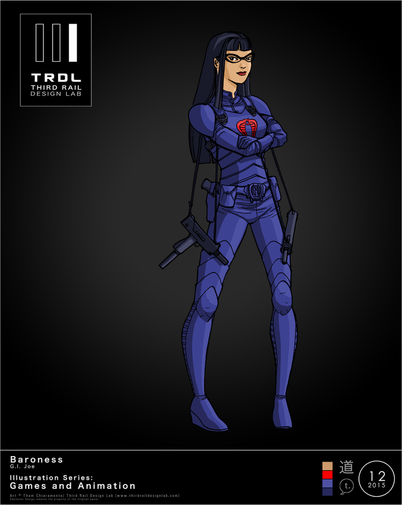 TRDL 2015 Series No 12  Baroness Blue Version by TRDLcomics