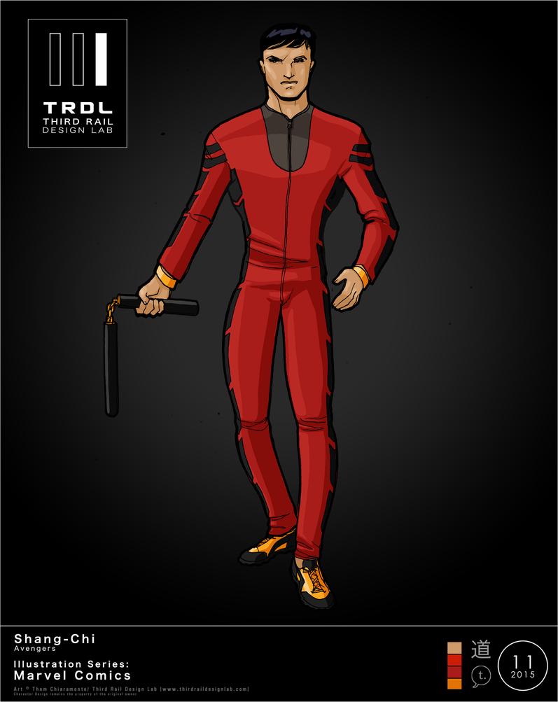 TRDL 2015 Series No. 11 Shang Chi by TRDLcomics