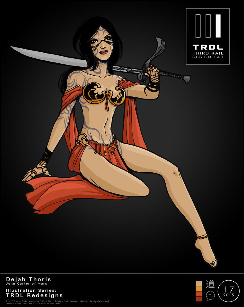 TRDL 2015 Series No 17 Dejah Thoris by TRDLcomics