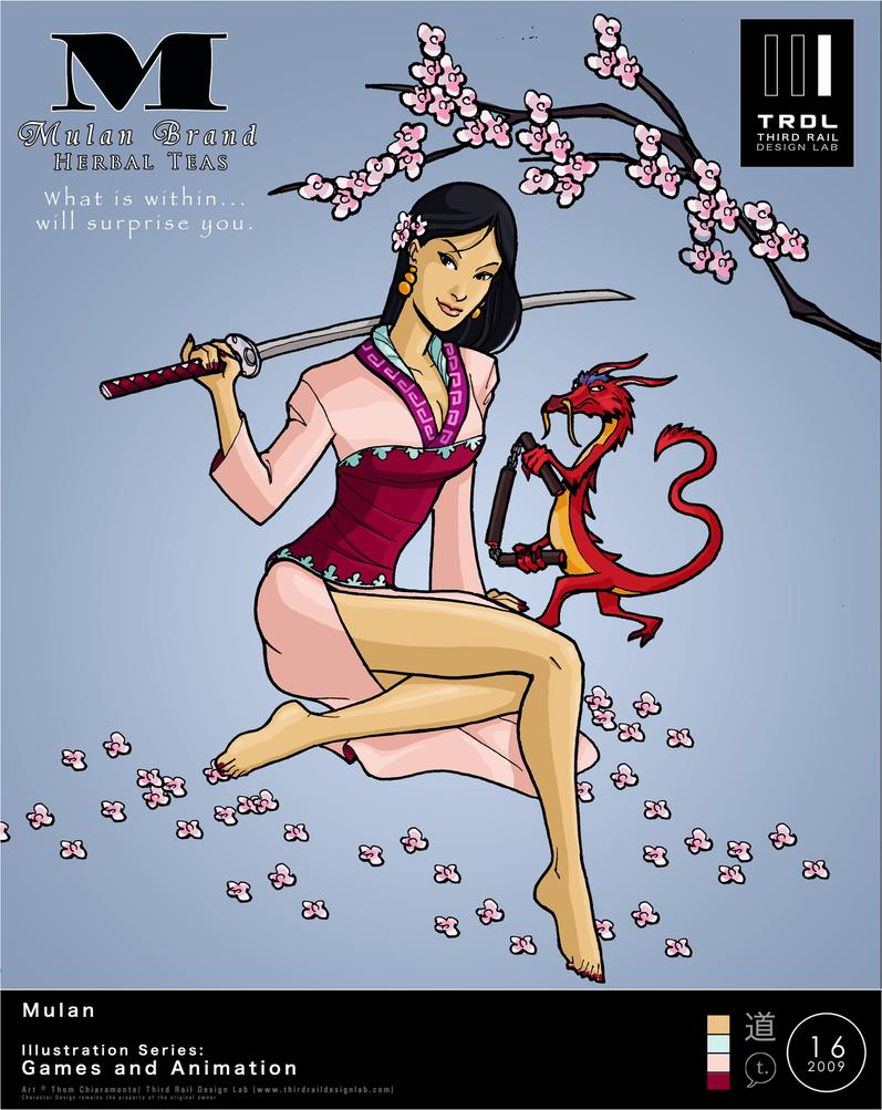 TRDL 2009 No 16 Mulan by TRDLcomics