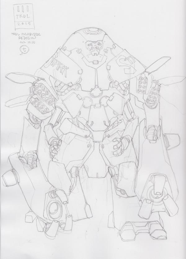 Trdl15 Hulkbusterredesignp by TRDLcomics