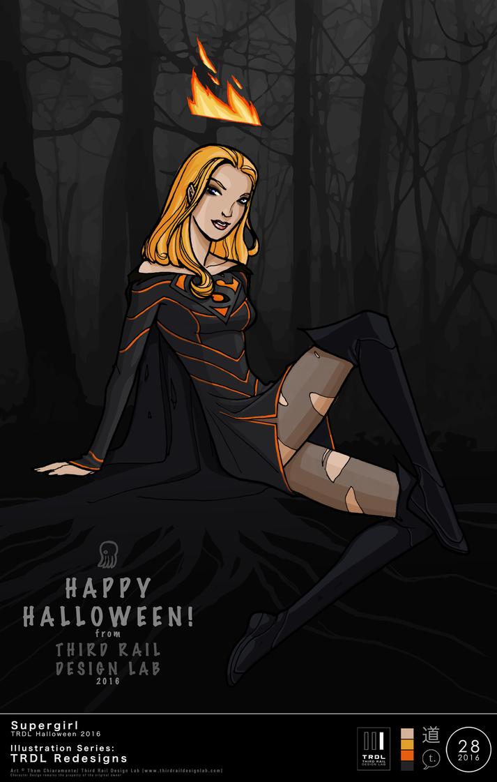 Trdl1628 Halloweensupergirlz by TRDLcomics
